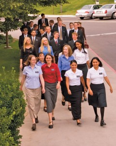 Mormon Missionaries MTC