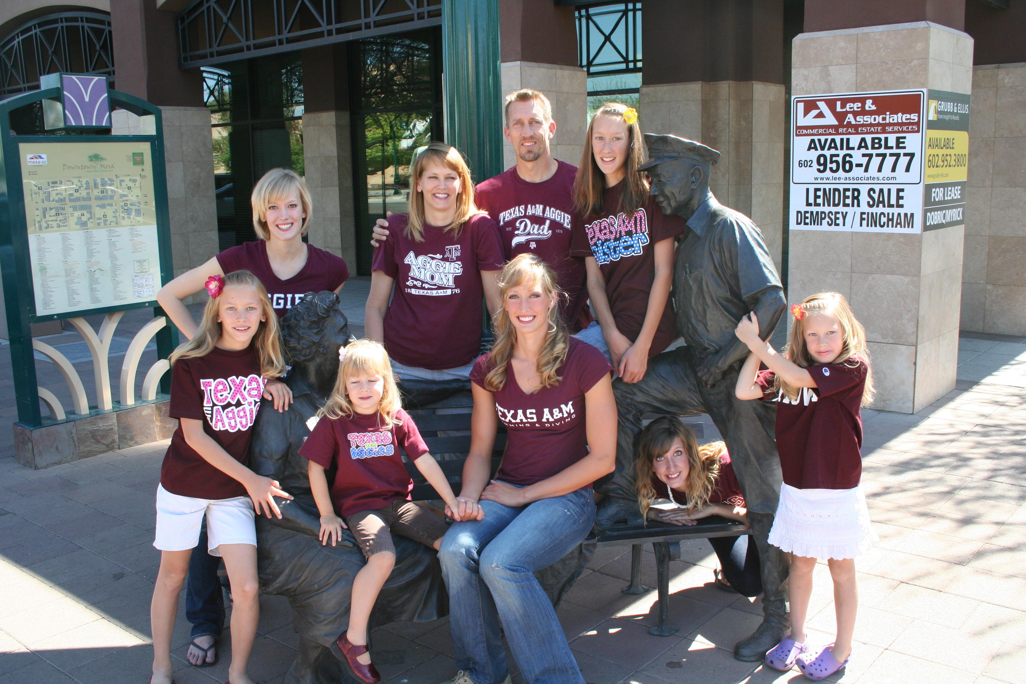 Breeja Larson has a large Mormon family.