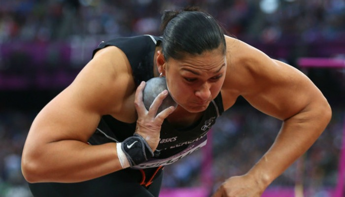 Shot Putter Valerie Adams